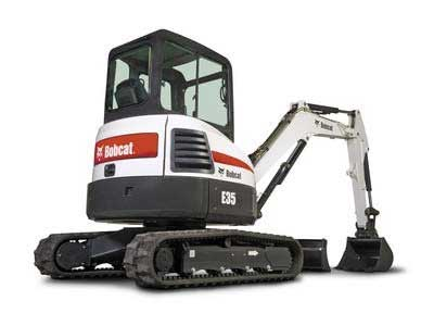 Excavator rentals in the Western Chicago Suburbs