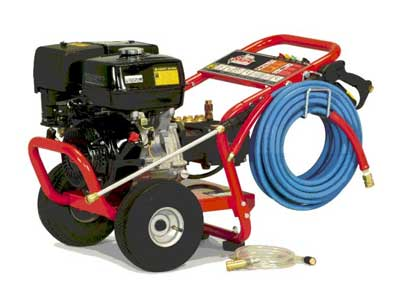 Pressure washer rentals in the Western Chicago Suburbs
