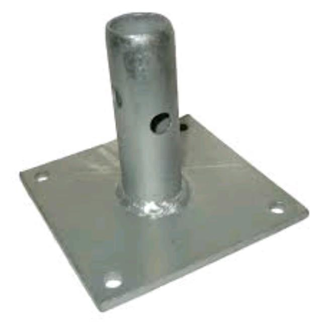Where to find SCAFFOLD BASE PLATE, 4X4 in Oswego