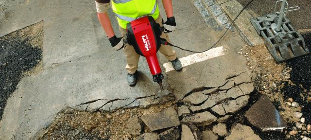 Breaker Elec Hammer Large Hilti Rentals Oswego Il Where