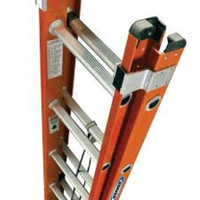 Where to find LADDER, EXT 40  FIBERGLAS in Oswego