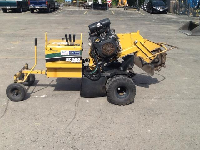 Where to find STUMP GRINDER SC292 25 HP  3 in Oswego
