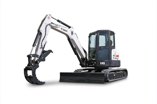 Where to find EXCAVATOR, E45 12  BACKHOE T4 in Oswego