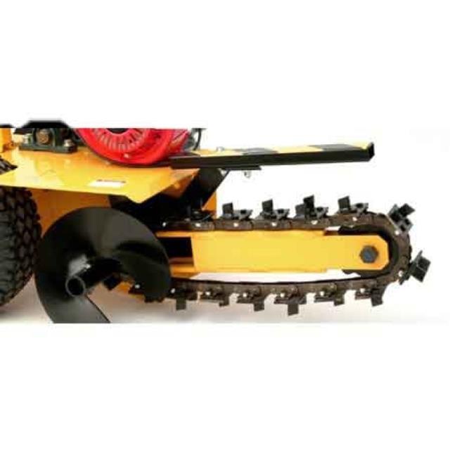Trencher Walk 3 Inch X18 Inch Pull Rentals Oswego Il