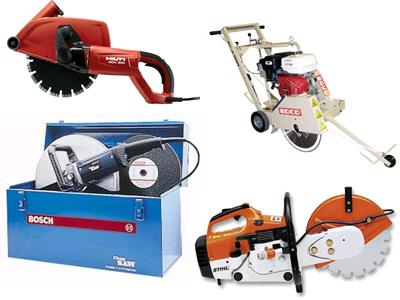 Rent Concrete Cutting Tools