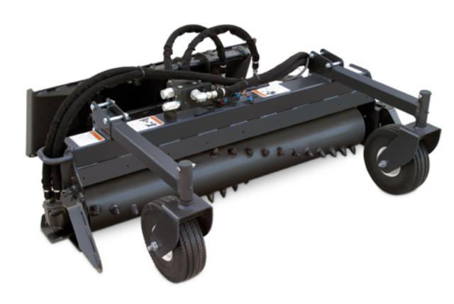 Harley rake mini skid 4 foot attachment rentals Oswego IL